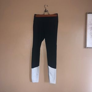 Victoria's Secret Sport Two-tone Leggings